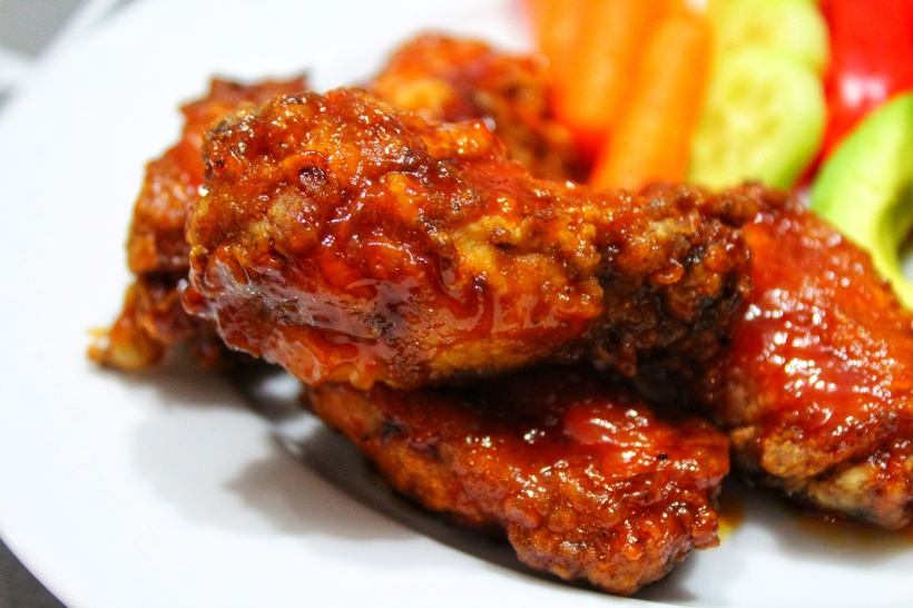 Sweet & Sticky BBQ Chicken Wings