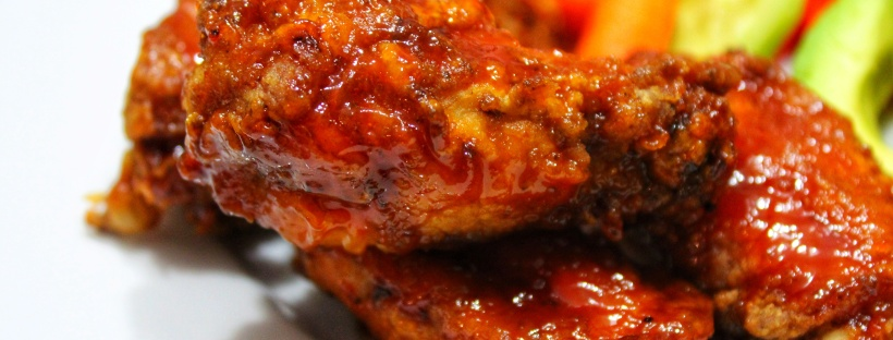 Sweet & Sticky BBQ Chicken Wings